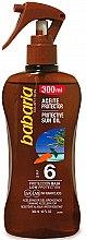 Profumi e cosmetici Olio solare - Babaria Protective Sun Oil Spf6