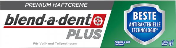 Crema di fissaggio per protesi dentale - Blend-A-Dent Premium Adhesive Cream Plus Dual Protection Fresh