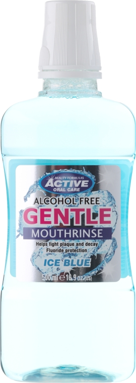 Collutorio - Beauty Formulas Active Oral Care Clear Ice Blue  — foto N1