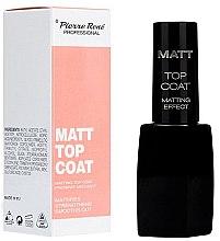 Profumi e cosmetici Top coat opacizzante - Pierre Rene Matt Top Coat Matting Effect