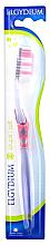"Profumi e cosmetici Spazzolino da denti ""Interactive"" morbido, rosa - Elgydium Inter-Active Soft Toothbrush"