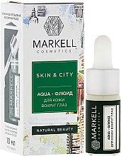 "Profumi e cosmetici Aqua-fluid contorno occhi ""Fungo di neve"" - Markell Cosmetics Skin&City Face Mask"