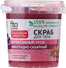 """Profumi e cosmetici Scrub corpo """"Uva-zucchero """" - Fito cosmetica"""