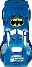 "Profumi e cosmetici Doccia gel ""Batmobile"" - Disney 3D Batmobile Bubble Bath"