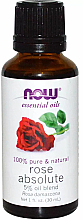Profumi e cosmetici Olio essenziale di rosa - Now Foods Essential Oils 100% Pure Rose Absolute