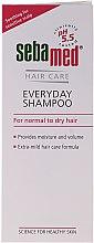 Profumi e cosmetici Shampoo per capelli normali e secchi - Sebamed Classic Everyday Shampoo