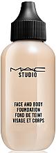 Profumi e cosmetici Fondotinta viso e corpo - M.A.C Studio Face and Body Foundation