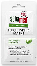 Profumi e cosmetici Maschera per pelli secche - Sebamed Trockene Haut Moisture Omega 6 Mask