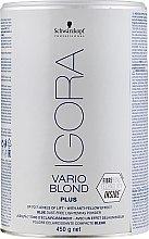 Profumi e cosmetici Polvere decolorante per capelli - Schwarzkopf Professional Igora Vario Blond Plus