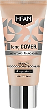 Profumi e cosmetici Fondotinta impermeabile - Hean Long Cover Waterproof Foundation