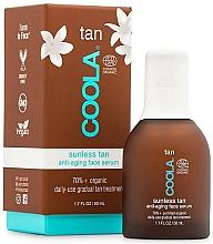 Profumi e cosmetici Siero viso - Coola Sunless Tan Anti-Aging Face Serum