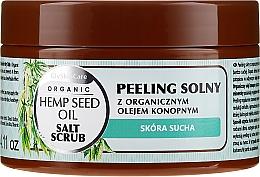 Profumi e cosmetici Scrub al sale con olio di canapa biologico - GlySkinCare Hemp Seed Oil Salt Scrub