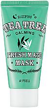 Profumi e cosmetici Maschera da notte dell'albero del tè - A'pieu Fresh Mate Tea Tree Mask