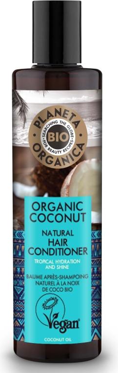 Condizionante idratante per capelli - Planeta Organica Organic Coconut Natural Hair Conditioner