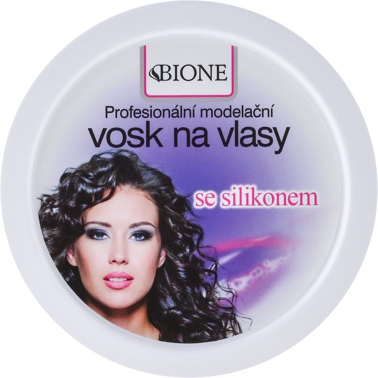 Cera per capelli - Bione Cosmetics Professional Hair Wax Silicone — foto N1