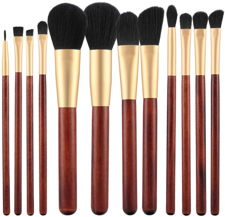 Set pennelli trucco, 12 pz - Tools For Beauty