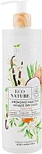 Profumi e cosmetici Latte doccia cremoso - Bielenda Eco Nature Creamy Body Wash Milk Vanilla Coconut Milk Orange Blossom