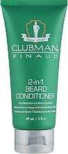 Profumi e cosmetici Crema-condizionante barba - Clubman Pinaud 2-in-1 Beard Conditioner