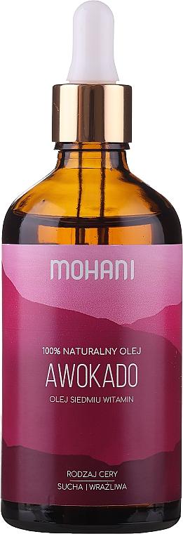 Olio naturale di avocado - Mohani Avocado Oil — foto N3