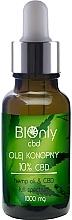 Profumi e cosmetici Olio di canapa CBD 10% - BIOnly