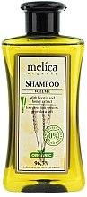 """Profumi e cosmetici Shampoo """"Volume elevato"""" con estratto di cheratina e miele - Melica Organic Volume Shampoo"""