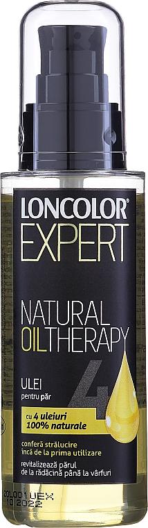 Olio per capelli - Loncolor Expert Natural Oil Therapy — foto N1