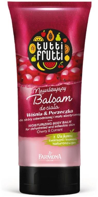 """Balsamo corpo """"Ciliegia e ribes"""" - Farmona Tutti Frutti Moisturizing Body Balm Cherry & Currant"""