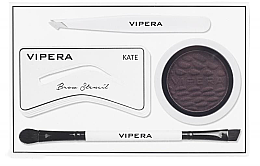 Profumi e cosmetici Set per sopracciglia - Vipera Celebrity Eyebrow Definer Kit