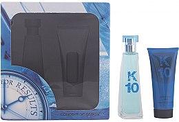 Profumi e cosmetici Concept V Design K10 - Set (edt/100ml + ash/balm/100ml)