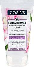 Profumi e cosmetici Maschera con giglio organico e cheratina - Coslys Sublime Keratine Mask