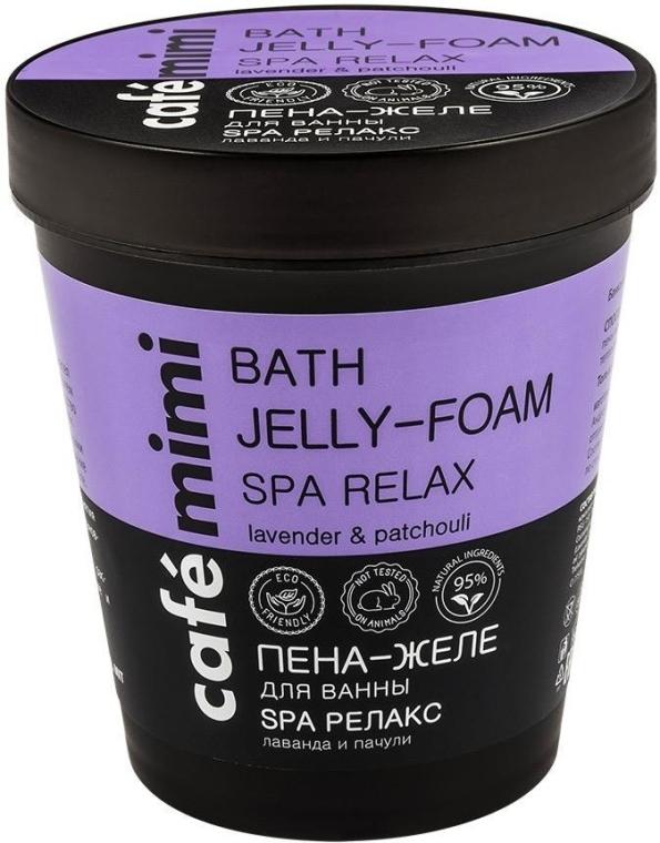 "Bagno-schiuma ""SPA Relax"" - Cafe Mimi Bath Jelly Foam"