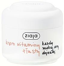 Profumi e cosmetici Crema vitaminica per tutti i tipi di pelle matura - Ziaja Face Cream