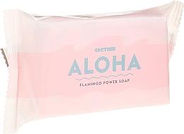 Profumi e cosmetici Sapone naturale - Oh!Tomi Aloha Flamingo Power Soap