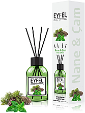 "Profumi e cosmetici Diffusore di aromi ""Menta"" - Eyfel Perfume Reed Diffuser Mint"