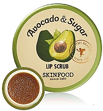 Profumi e cosmetici Scrub labbra - Skinfood Avocado and Sugar Lip Scrub