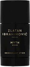 Profumi e cosmetici Zlatan Ibrahimovic Myth Wood - Deodorante-stick