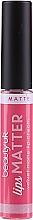 Profumi e cosmetici Rossetto - Beauty UK Lips Matter Matte Lip Cream (4 -Shake your Plum)