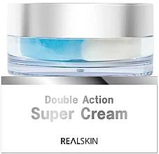 Profumi e cosmetici Crema viso - Real Skin Double Action Super Cream