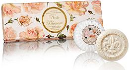"""Profumi e cosmetici Set di sapone """"Rosa"""" - Saponificio Artigianale Fiorentino Rose Blossom Soap"""