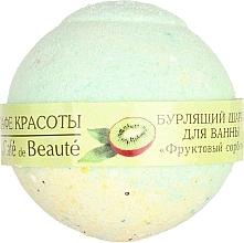 """Profumi e cosmetici Bomba da bagno """"Sorbetto alla frutta"""" - Le Cafe de Beaute Bubble Ball Bath"""