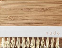 Profumi e cosmetici Spazzola unghie con setole di bambù e sisal - Nudo Nature Made Bamboo Nail Brush With Sisal Bristles