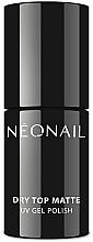 Profumi e cosmetici Top opaco per smalto gel - NeoNail Professional Dry Top Matte