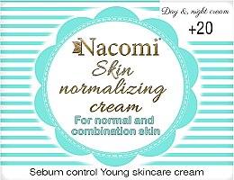 Profumi e cosmetici Crema viso normalizzante, per la pelle normale e mista - Nacomi Normalizing Cream 20+