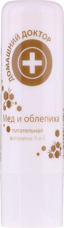 Balsamo labbra miele e olivello spinoso - Domashnyi Doctor