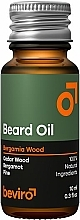 Profumi e cosmetici Olio da barba - Beviro Beard Oil Bergamia Wood