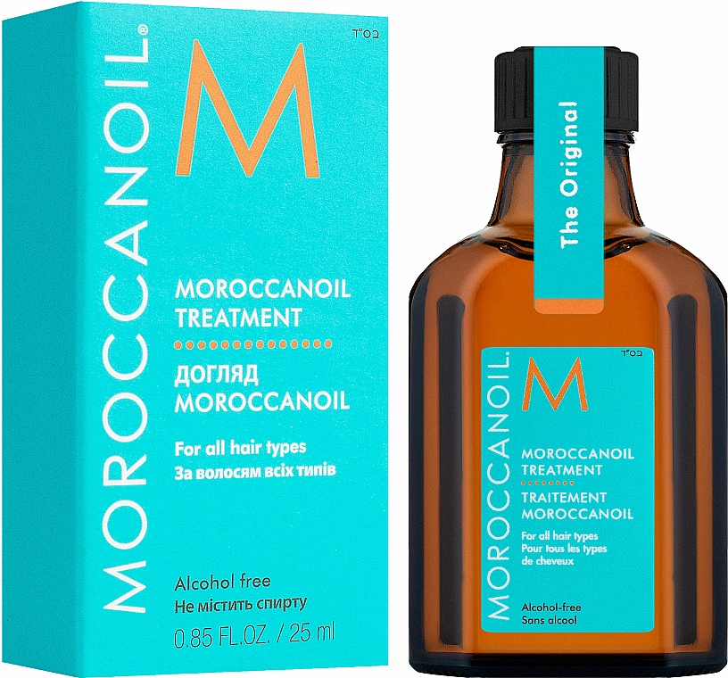 Olio rigenerante per capelli - Moroccanoil Oil Treatment For All Hair Types