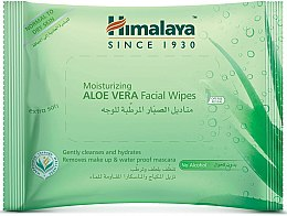 Profumi e cosmetici Salviettine idratanti per viso all'Aloe Vera - Himalaya Moisturizing Aloe Vera Facial Wipes