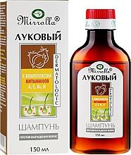 Profumi e cosmetici Shampoo alla cipolla con complesso di vitamine - Mirrolla