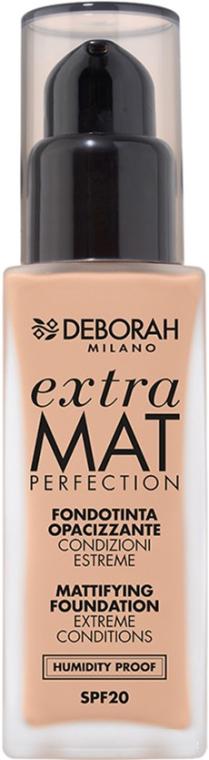 Fondotinta opacizzante - Deborah Extra Mat Perfection SPF20