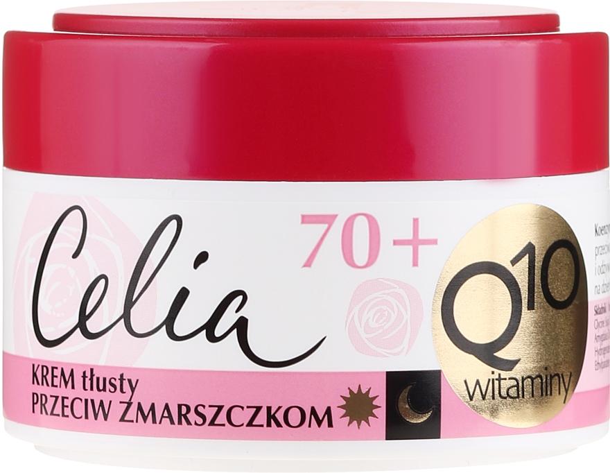 Crema nutriente antirughe 70+ - Celia Q10 Face Cream 70+